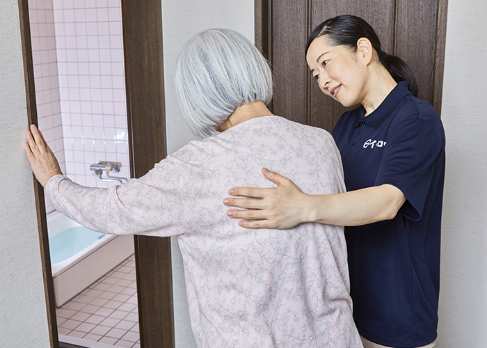 入浴・清拭の介護