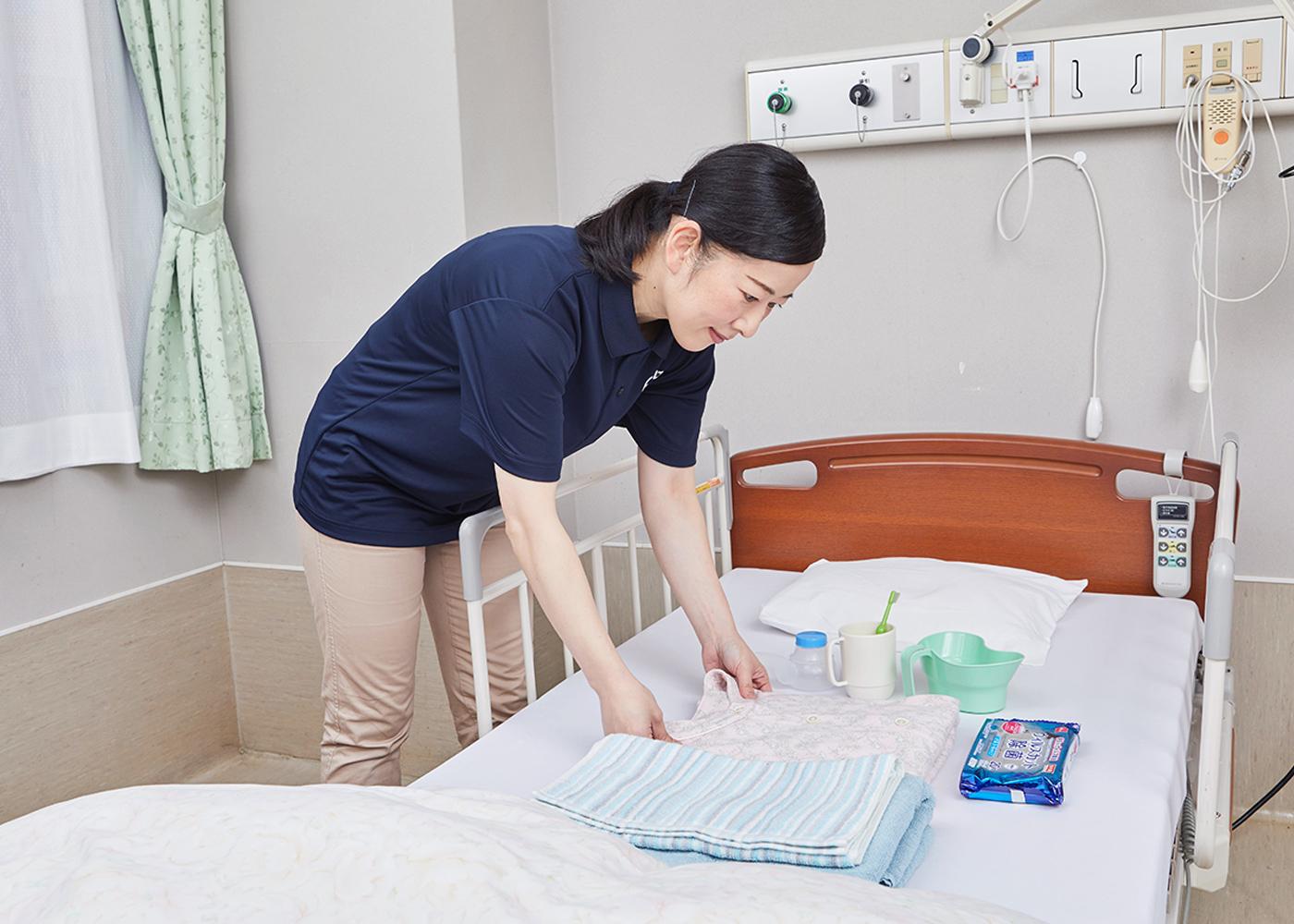 入院中の介護・見守り