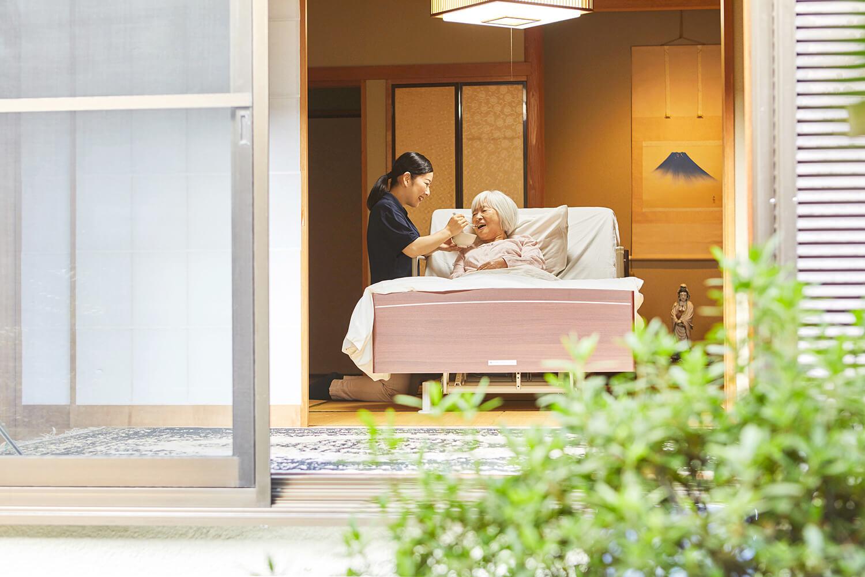 イチロウは、在宅介護を最も近くで支える存在として、お客様に寄り添った介護サービスを提供します。